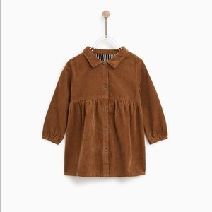 Zara - Corduroy Dress ( Size 2-3 years)